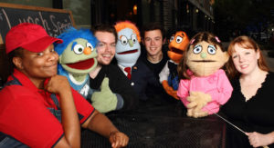 Avenue Q at Theatre Too. Photo credit: Dallas Voice